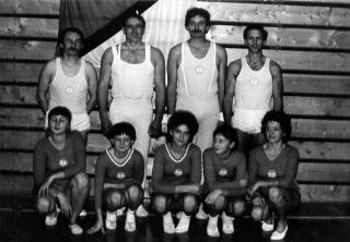 Wettkampfriege Männer und Frauen 1987